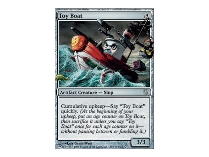 Toy Boat (Foil NE, Stav Near Mint)