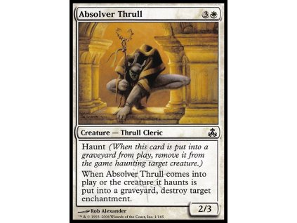 Absolver Thrull (Foil NE, Stav Near Mint)
