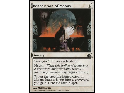 Benediction of Moons (Foil NE, Stav Near Mint)