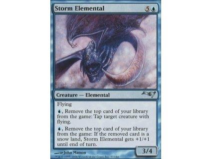 Storm Elemental (Foil NE, Stav Near Mint)