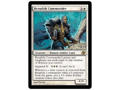 Benalish Commander (Foil NE, Stav Light Played)
