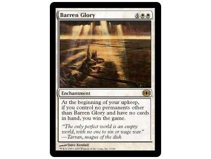 Barren Glory (Foil NE, Stav Near Mint)