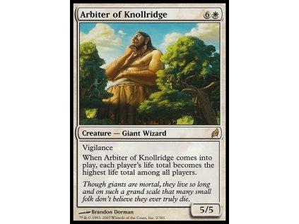 Arbiter of Knollridge (Foil NE, Stav Light Played)