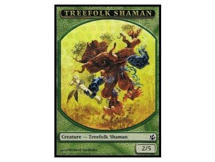 Treefolk Shaman token (Foil NE, Stav Near Mint)
