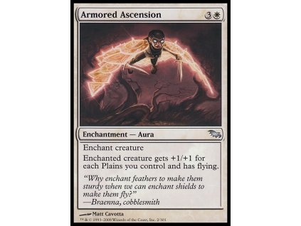 Armored Ascension (Foil ANO, Stav Near Mint)