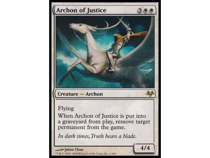 Archon of Justice (Foil NE, Stav Near Mint)