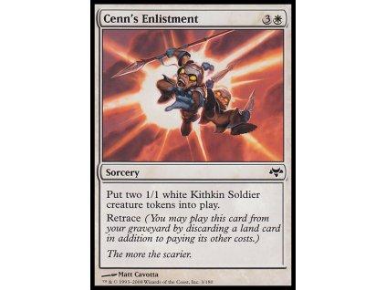 Cenn's Enlistment (Foil NE, Stav Near Mint)