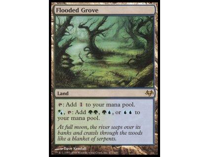 Flooded Grove - NON ENG GER SP (Foil NE, Stav Light Played)