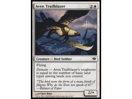 Aven Trailblazer (Foil ANO, Stav Near Mint)