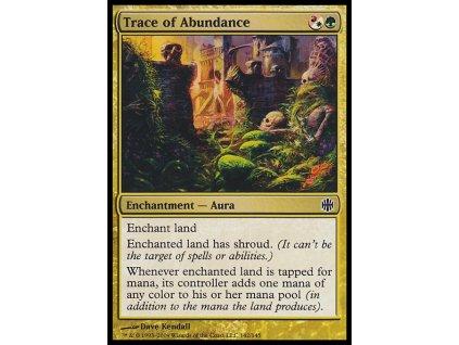 Trace of Abundance (Foil ANO, Stav Near Mint)