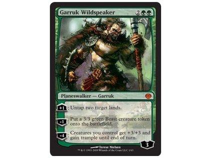 Garruk Wildspeaker - DD FOIL (Foil NE, Stav Light Played)