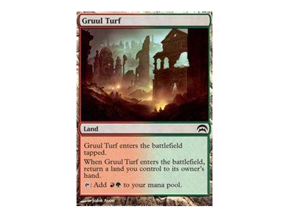 Gruul Turf (Foil NE, Stav Near Mint)