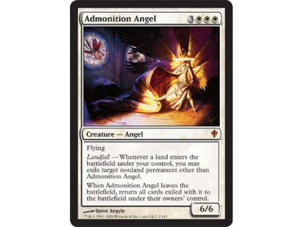 Admonition Angel (Foil NE, Stav Light Played)