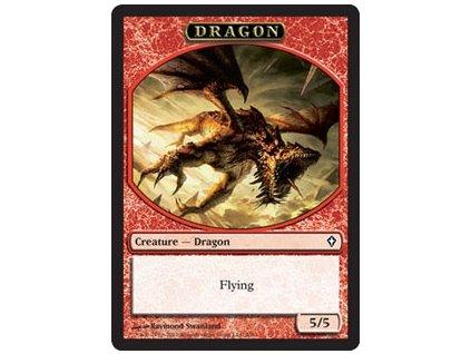 Dragon token (Foil NE, Stav Near Mint)