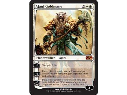 Ajani Goldmane (Foil NE, Stav Light Played)