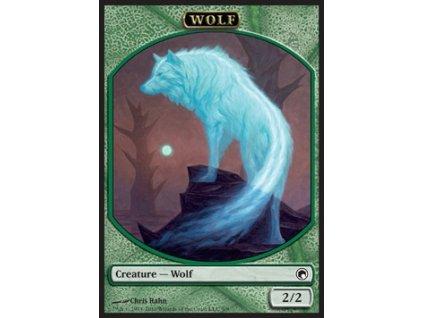 Wolf token (Foil NE, Stav Near Mint)