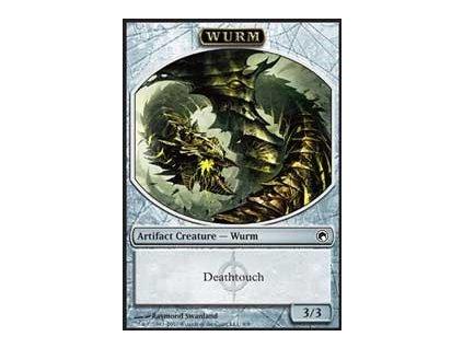 Wurm token (deathtouch) (Foil NE, Stav Near Mint)