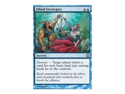 Allied Strategies (Foil NE, Stav Near Mint)