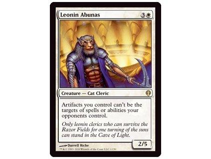 Leonin Abunas (Foil NE, Stav Light Played)
