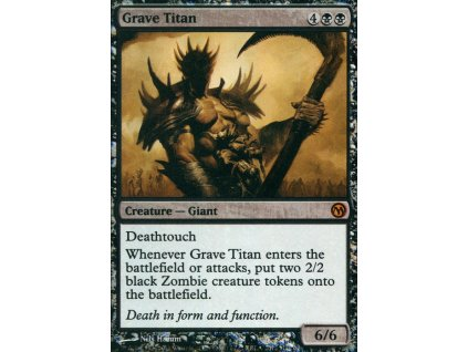 Grave Titan - DOTP PROMO (Foil NE, Stav Light Played)