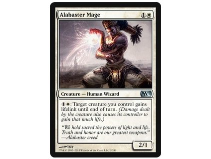 Alabaster Mage (Foil ANO, Stav Near Mint)