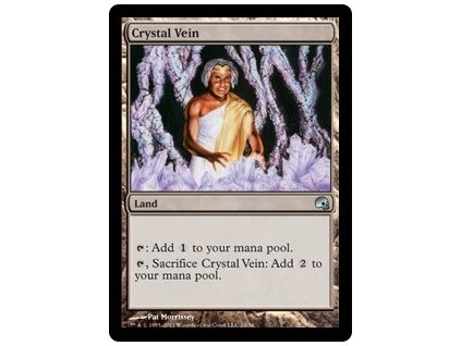 Crystal Vein - PDS FOIL (Foil NE, Stav Near Mint)