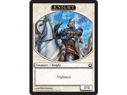Knight token (Foil NE, Stav Near Mint)