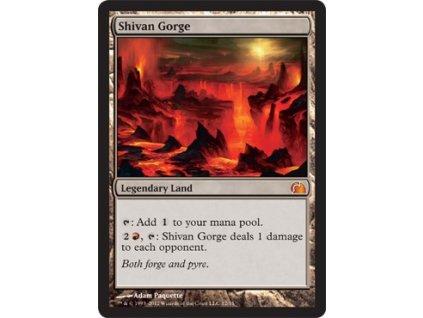 Shivan Gorge - FTV FOIL (Foil NE, Stav Near Mint)