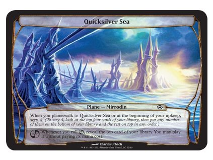 Quicksilver Sea (Foil NE, Stav Near Mint)