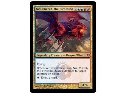 Niv-Mizzet, the Firemind - DD FOIL (Foil NE, Stav Light Played)
