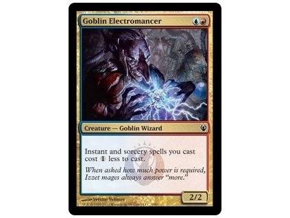 Goblin Electromancer (Foil NE, Stav Near Mint)