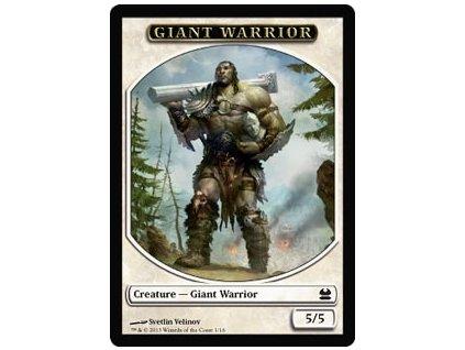 Giant Warior token (Foil NE, Stav Near Mint)