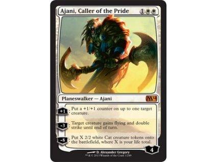 Ajani, Caller of the Pride (Foil NE, Stav Near Mint)