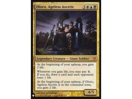 Oloro, Ageless Ascetic (Foil NE, Stav Near Mint)