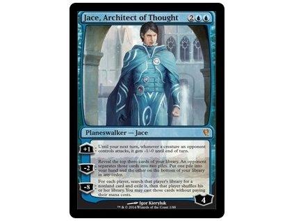 Jace, Architect of Thought - DD FOIL (Foil NE, Stav Near Mint)