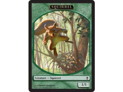 Squirrel token (Foil NE, Stav Near Mint)