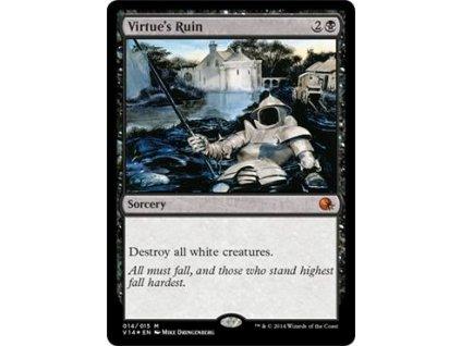 Virtue's Ruin - FTV FOIL (Foil NE, Stav Near Mint)
