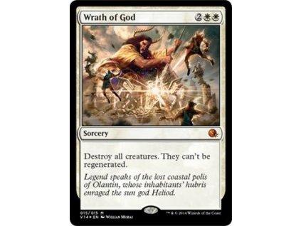 Wrath of God - FTV FOIL (Foil NE, Stav Near Mint)