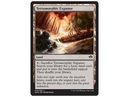 Terramorphic Expanse (Foil NE, Stav Near Mint)