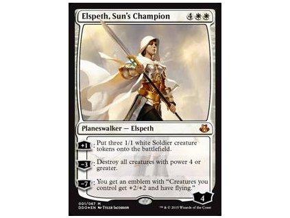 Elspeth, Sun's Champion - DD FOIL (Foil NE, Stav Near Mint)