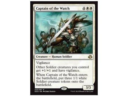 Captain of the Watch (Foil NE, Stav Near Mint)