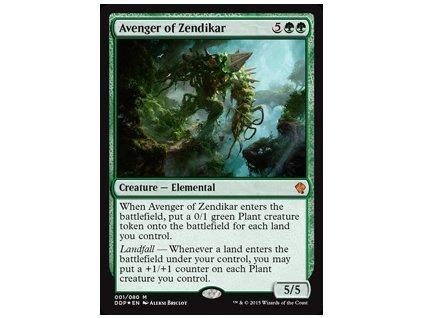 Avenger of Zendikar - DD FOIL (Foil NE, Stav Near Mint)