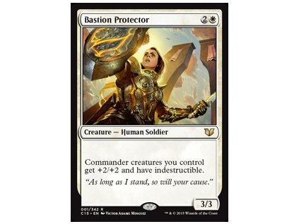 Bastion Protector (Foil NE, Stav Near Mint)