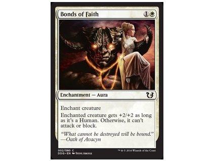 Bonds of Faith (Foil NE, Stav Near Mint)