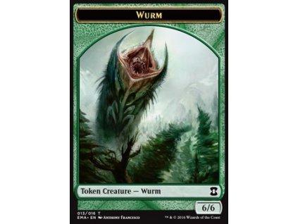 Wurm Token (Foil NE, Stav Near Mint)