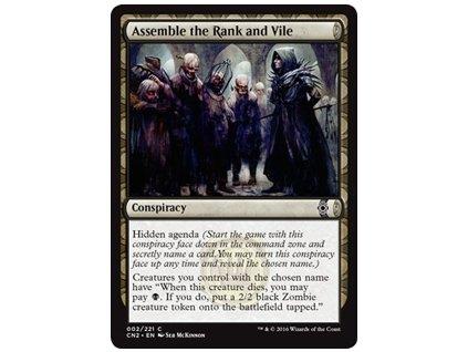 Assemble the Rank and Vile (Foil NE, Stav Near Mint)