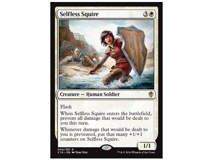 Selfless Squire (Foil NE, Stav Near Mint)