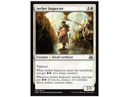 Aether Inspector (Foil NE, Stav Near Mint)