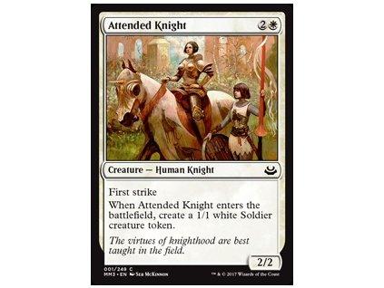 Attended Knight (Foil ANO, Stav Near Mint)
