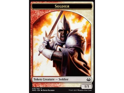 Soldier Token (Foil NE, Stav Near Mint)